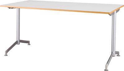 [会議用テーブル]アイリスチトセ(株) アイリスチトセ リフレッシュテーブル フーク T字脚 1200×750 ホワイト CFKTT1275G-W 1台【790-2221】【代引不可商品】【別途運賃必要なためご連絡いたします。】