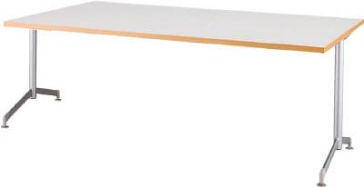 [会議用テーブル]アイリスチトセ(株) アイリスチトセ リフレッシュテーブル フーク T字脚 1800×750 ホワイト CFKTT1875G-W 1台【790-2263】【代引不可商品】【別途運賃必要なためご連絡いたします。】