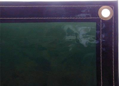 [火花用衝立]吉野(株) 吉野 遮光用衝立用シート ダークグリーン YS-SDG-4 1枚【793-3827】