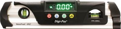 [デジタル水平器](株)アカツキ製作所 KOD 防水型デジタル水平器 DWL-280PRO 1本【794-4969】
