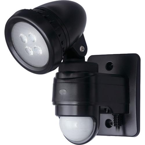 [防犯用センサーライト(LEDライト)]DXアンテナ(株) デルカテック LEDセンサーライト DSLD10B1 1台【835-9905】