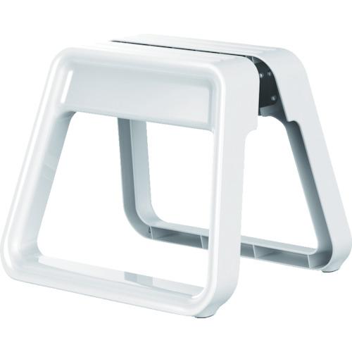 [踏台](株)ピカコーポレイション ピカ 樹脂製踏台 GEM STEP ホワイト GEMSNCWH 1台【836-4275】