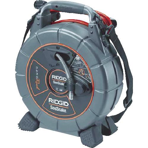 【送料無料】[工業用内視鏡]Ridge Tool Company RIDGID シースネーク ナノリールN85S モニター用 40008 1台【836-6244】【北海道・沖縄送料別途】【smtb-KD】