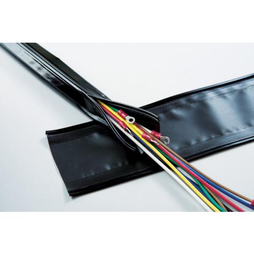 [電線保護チューブ]日本ジッパーチュービング(株) ZTJ 配線結束保護 チューブ・ジッパータイプ φ70 GPJ70 1巻【855-8787】【代引不可商品】【別途運賃必要なためご連絡いたします。】