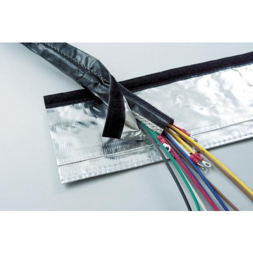 [電線保護チューブ]日本ジッパーチュービング(株) ZTJ 電磁波シールド チューブ・マジックタイプ φ100 MTFARK100 1巻【855-8803】【代引不可商品】【別途運賃必要なためご連絡いたします。】