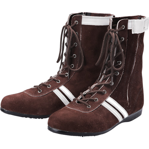 [安全靴(長編上靴・JIS規格品)]青木産業(株) 青木安全靴 高所作業用安全靴 WAZA-F-2 24.5cm WAZAF224.5 1足【855-9207】