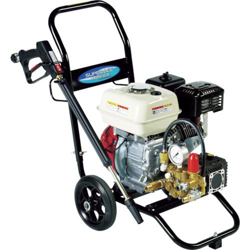 送料無料 冷水高圧洗浄機 エンジンタイプ スーパー工業 株
