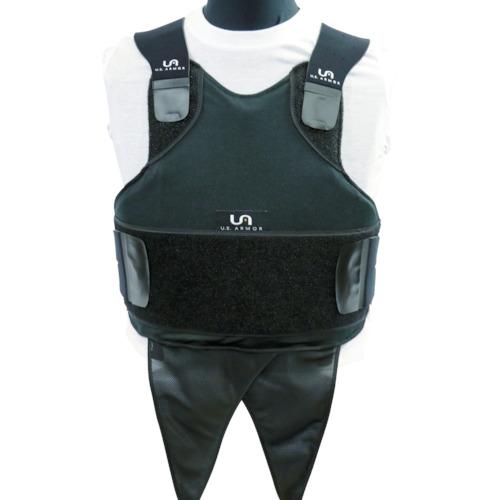 【送料無料】[防犯用ベスト]U.S. Armor社 US Armor Armor インナーキャリア ACS(男性用) ブラック L F500300BLKL 1着【859-4443】【北海道・沖縄送料別途】【smtb-KD】
