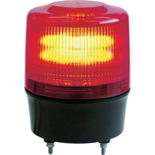 [LED回転灯](株)日惠製作所 NIKKEI ニコトーチ120 VL12R型 LEDワイド電源 12-24V VL12RD24WY 1台【859-7268】