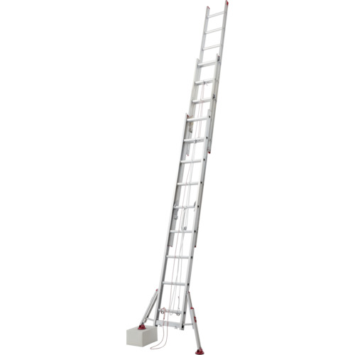 [3連はしご]長谷川工業(株) ハセガワ スタビライザー式 脚部伸縮式3連はしご(ハチ型) LSS31.080 1台【835-3111】【代引不可商品】【別途運賃必要なためご連絡いたします。】