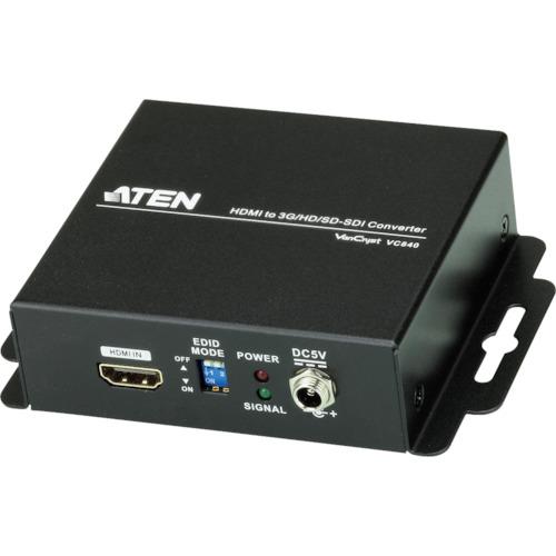 [セレクタスイッチ]【送料無料】ATENジャパン(株) ATEN ビデオ変換器 HDMI to 3G/HD/SD-SDIタイプ VC840 1台【115-3006】【北海道・沖縄送料別途】【smtb-KD】