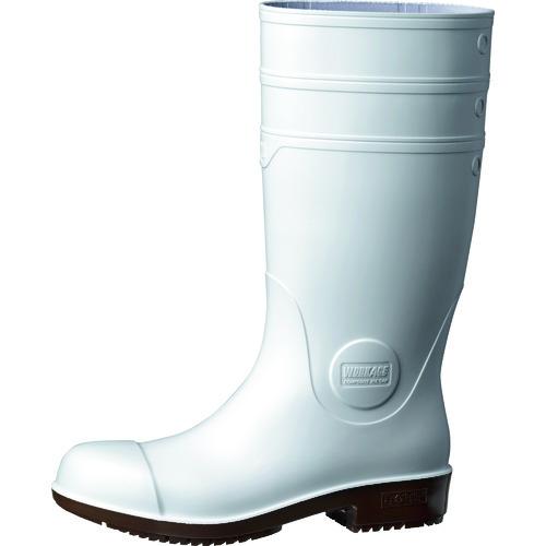 [長靴(先芯入り)]ミドリ安全(株) ミドリ安全 超耐滑先芯入り長靴 ハイグリップ NHG1000スーパー ホワイト 24.0CM NHG1000SP-W-24.0 1足【125-6237】