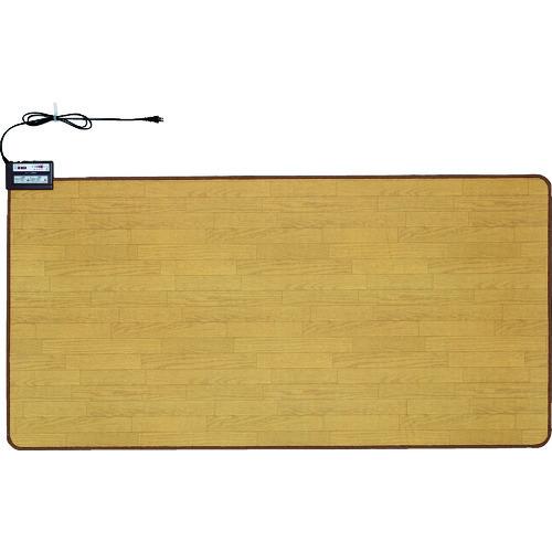 [ホットカーペット]ワタナベ工業(株) ワタナベ ホットカーペット木目タイプ WHC-103KMD 1台【125-7058】