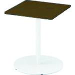 [会議用テーブル](株)イトーキ イトーキ テーブル(角型)600×600×720 TRA-066LH-W917 1台【125-8922】【別途運賃必要なためご連絡いたします。】