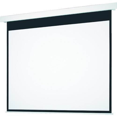[スクリーン](株)オーエス OS 120型電動巻上げ式スクリーン SEP-120HM-MRW1-WG 1台【125-9018】【別途運賃必要なためご連絡いたします。】