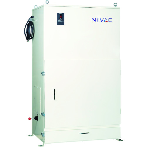 [集じん機](株)NIVAC NIVAC 手動ちり落とし式 NBC-220PN 60HZ NBC-220PN-60HZ 1台【102-6136】【別途運賃必要なためご連絡いたします。】