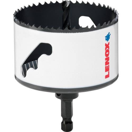 [ハイスホールソー]LENOX社 LENOX スピードスロット 軸付 バイメタルホールソー 111mm 5121049 1本【106-1506】