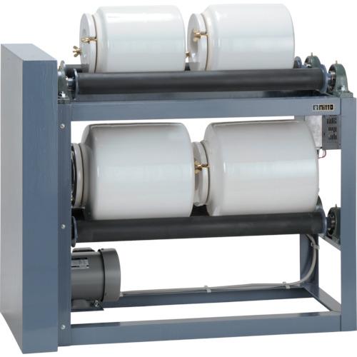 [粉砕機器]日陶科学(株) 日陶 ポットミル回転台 インバーター付 NT-4S-RMI 1台【114-1420】【別途運賃必要なためご連絡いたします。】