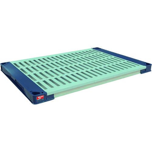 [プラスチック棚]エレクター(株) エレクター メトロマックス4 グリッドマット追加棚板1215×620 MAX4-2448G 1枚【114-3009】【別途運賃必要なためご連絡いたします。】
