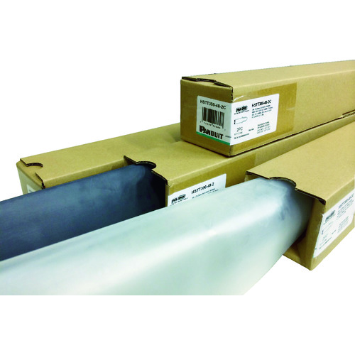 [熱収縮チューブ]パンドウイットコーポレーション パンドウイット 熱収縮チューブ 標準タイプ 透明 HSTT400-48-2C 1箱(2本)【731-3624】
