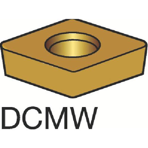 [ターニングチップ]サンドビック(株) サンドビック コロターン107 旋削用ポジ・チップ H13A DCMW 10個【173-5357】