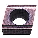 [ターニングチップ]三菱マテリアル(株) 三菱 P級サーメット旋削チップ CMT CCET060202L-SN 10個【246-5981】
