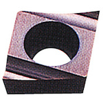 [ターニングチップ]三菱マテリアル(株) 三菱 P級サーメット旋削チップ CMT CCET0602V3R-SR 10個【246-6325】