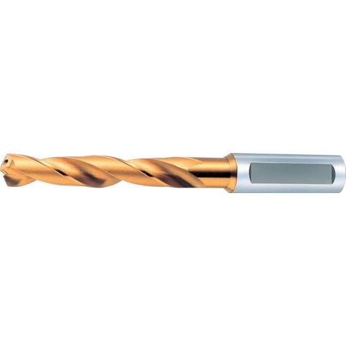 [ハイスコーティングドリル]オーエスジー(株) OSG 一般用加工用穴付き レギュラ型 ゴールドドリル EX-HO-GDR-8 1本【630-4605】