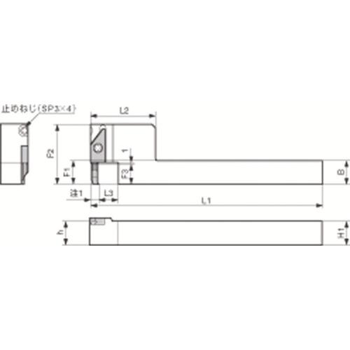 [ターニングホルダー]京セラ(株) 京セラ 内径加工用ホルダ SVNSR1212M-12-20XN 1個【648-2210】