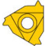 [ターニングチップ]三菱マテリアル(株) 三菱 P級UPコート COAT MMT16IR200W 5個【686-2063】
