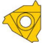 [ターニングチップ]三菱マテリアル(株) 三菱 P級UPコート COAT MMT16IR240UN 5個【686-2071】