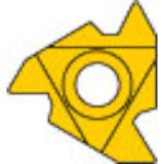 [ターニングチップ]三菱マテリアル(株) 三菱 P級UPコート COAT MMT16IRAG60 5個【686-2195】