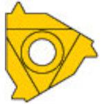 [ターニングチップ]三菱マテリアル(株) 三菱 P級UPコート COAT MMT16ER180UN 5個【686-2675】
