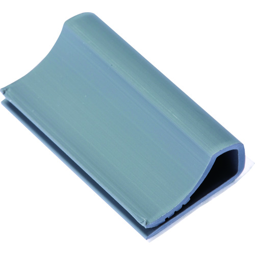 [ケーブル固定具]パンドウイットコーポレーション パンドウイット フラットケーブル固定具 ゴム系粘着テープ付き グレー(500個) FCC5-A-D8 1袋【818-0236】
