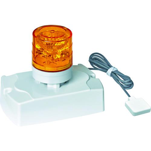 [LED表示灯](株)日惠製作所 NIKKEI 電話着信表示灯 ニコフォン VL04S型 LED回転灯 45パイ VL04S-100PHN 1台【114-1029】