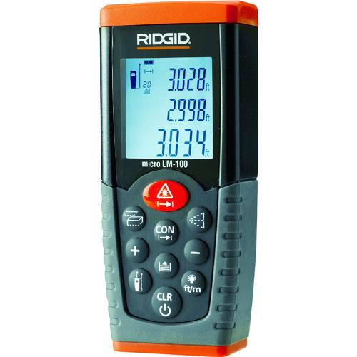 [レーザー距離計]【送料無料】Ridge Tool Compan リジッド 距離計 LM100 36158 1台【408-5914】【北海道・沖縄送料別途】【smtb-KD】