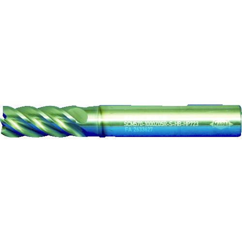 [超硬スクエアエンドミル]マパール(株) マパール Opti-Mill-HPC 不等分割5枚刃 サイレントミル SCM570J-0600Z05R-S-HA-HP723 1本【487-0573】