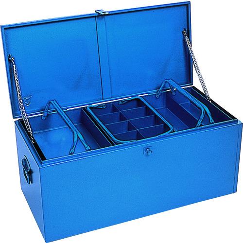 [車載用収納箱](株)リングスター リングスター 大型車載用工具箱GT-9100ブルー GT-9100-B 1個【487-2789】【代引不可商品】【別途運賃必要なためご連絡いたします。】