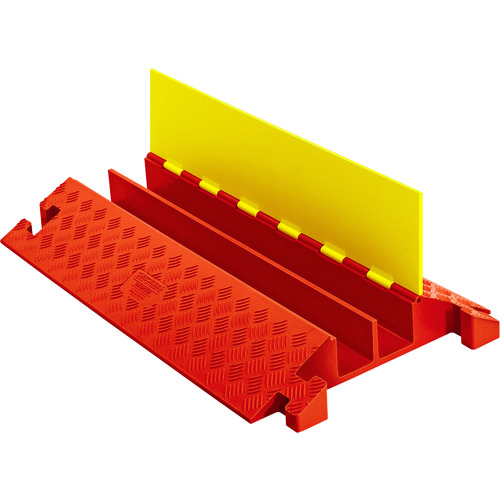 [ケーブルカバー]【送料無料】CHECKERS社 CHECKERS ラインバッカー ケーブルプロテクタ 重量型 電線2本 CP2X325-Y/O 1本【490-4036】