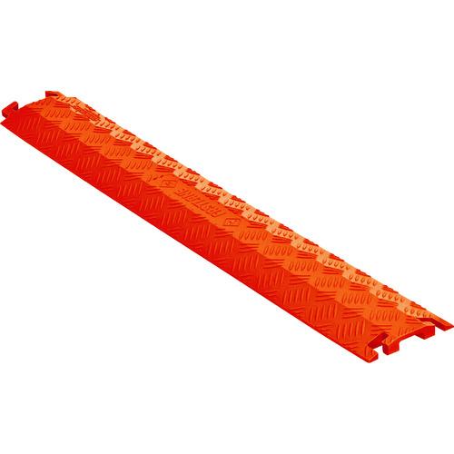[ケーブルカバー]【送料無料】CHECKERS社 CHECKERS ファーストレーン ケーブルプロテクター 軽量型 電線1本 FL1X4-O 1本【490-4354】