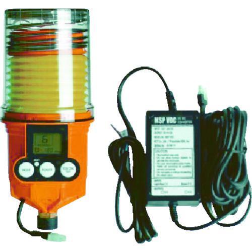[自動給油器]【送料無料】ザーレンコーポレーション(株) パルサールブ M 250cc DC外部電源型モーター式自動給油機(グリス空) MSP250/MAIN/VDC 1台【490-5954】