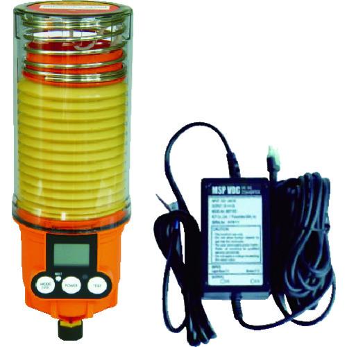 [自動給油器]【送料無料】ザーレンコーポレーション(株) パルサールブ M 500cc DC外部電源型モーター式自動給油機(グリス空) MSP500/MAIN/VDC 1台【490-5962】