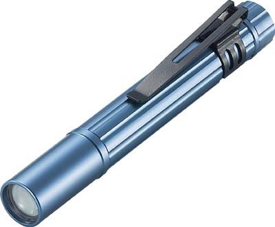 トラスコ中山 メーカー直送 株 工事 買収 照明用品 作業灯 懐中電灯 LEDペンライト 電池式 TRUSCO TAL-21AN-B ブルー 374-5911 1個 アルミLEDライト 1球 ペンタイプ 10ルーメン
