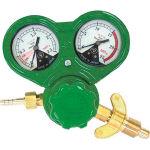 [ガス調整器]ヤマト産業(株) ヤマト 溶断用調整器 SSボーイジュニア(OX)関西式 N-SSJ-OX-W 1個【281-6091】