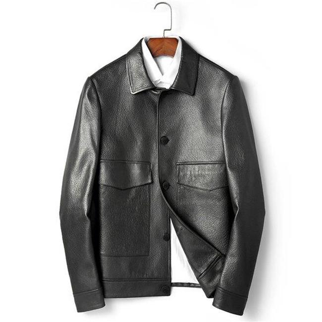 送料無料 羊革製 本革ジャケット カッコイイ ライダースジャケット 革ジャン レザーコート メンズ ビジネス 送料無料