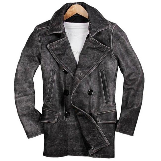 本革ジャケット 牛革製ジャケット カジュアル ライダースジャケット 革ジャン レザーコートジャケット 防寒 防風 アウター 送料無料