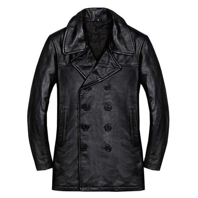 本革ジャケット 牛革製ジャケット カジュアル ライダースジャケット 革ジャン レザーコートジャケット 防寒 防風 厚手 アウター 送料無料