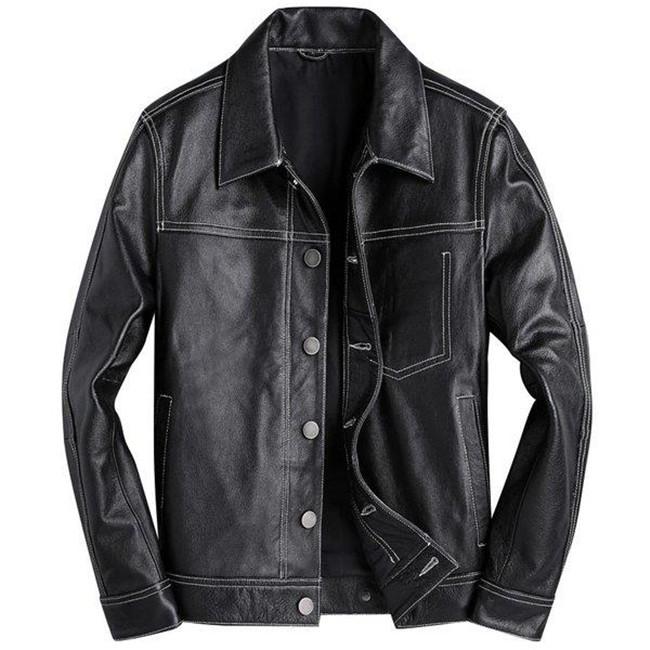 メンズジャケット牛革製 本革ジャケット ビジネス カッコイイ ライダースジャケット 革ジャン レザーコート メンズ 本革 送料無料
