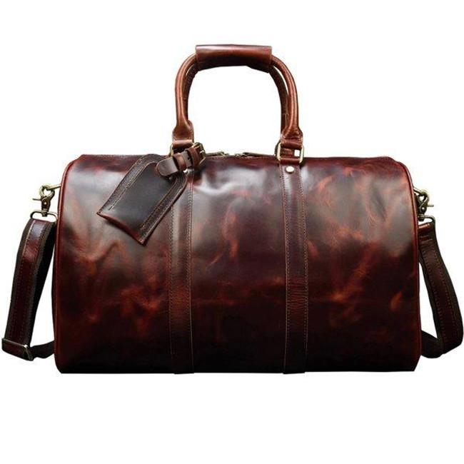 ボストンバッグ 本革 メンズ 高級本革 光沢 旅行鞄 レザー 小旅行 トラベルバング 男女兼用 旅行 出張 底鋲付き 45cm 機内持ち込み ゴルフ鞄
