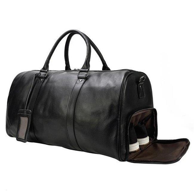 ボストンバッグ メンズ 本革 レザー 大容量 トラベルバッグ 増大版 送料無料 一部地域を除く 55cm 帰省 安心と信頼 靴ポケット付き ショルダーバッグ 軽量 小旅行 ゴルフ鞄 出張 旅行鞄